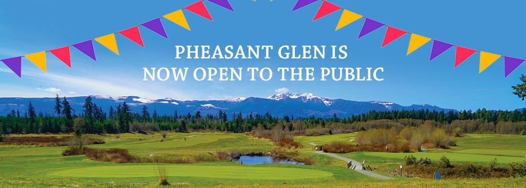 Pheasant Glen is now open to the public