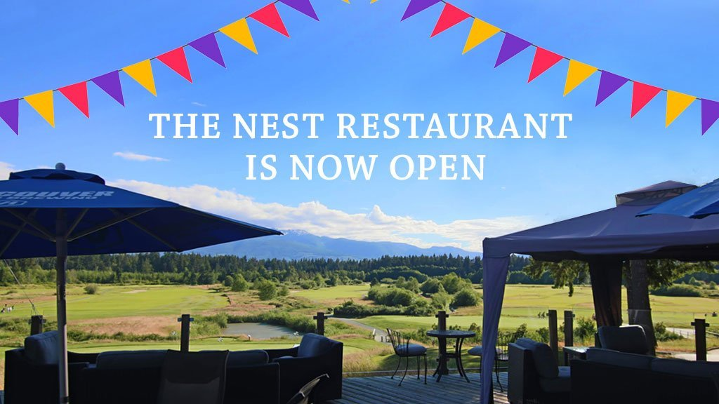 The Nest Restaurant is open!